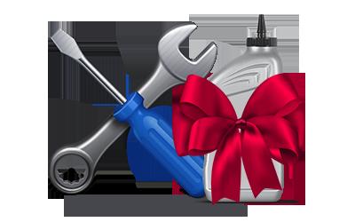Регулировка и смазка в подарок